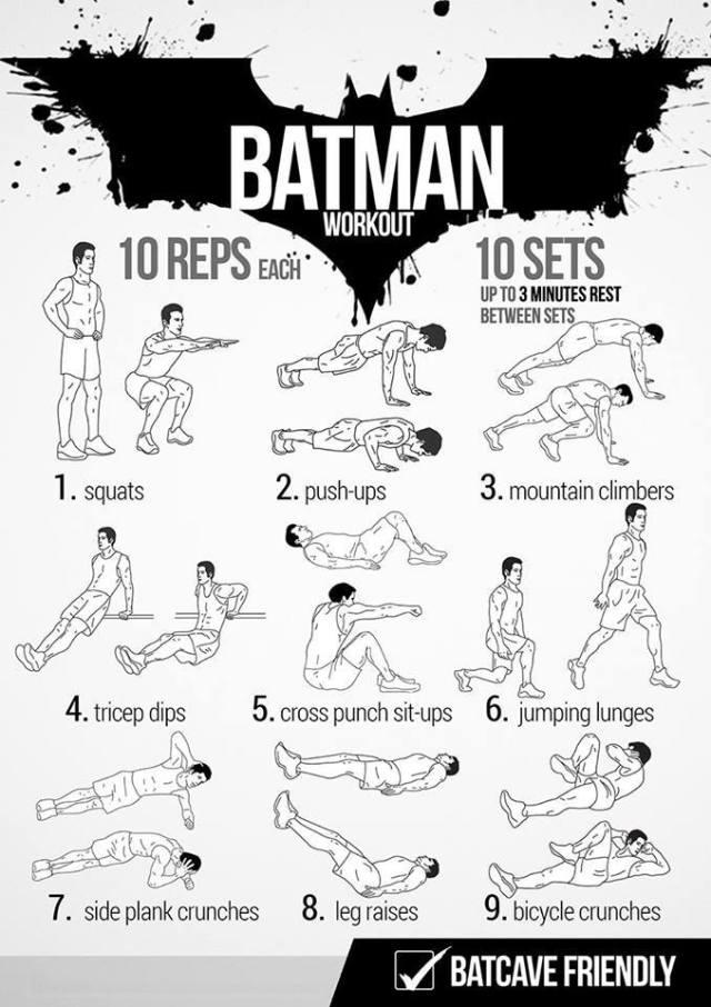 Batman Workout