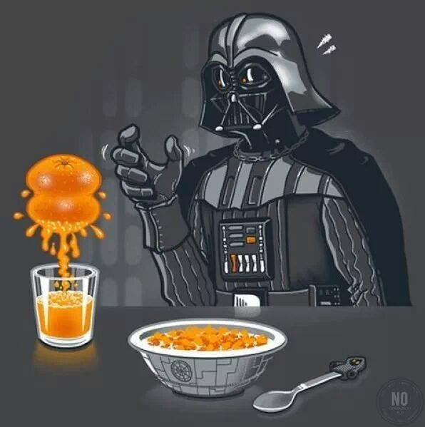 Even Darh Vader Needs Nutrition