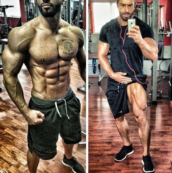 The gallery for --> Lazar Angelov Vs Ulisses Jr Ulisses Jr Before And After