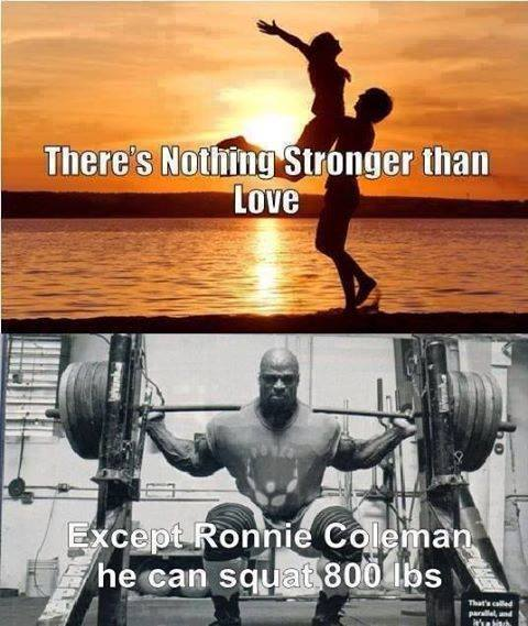 Nothing Stronger Than Love Except