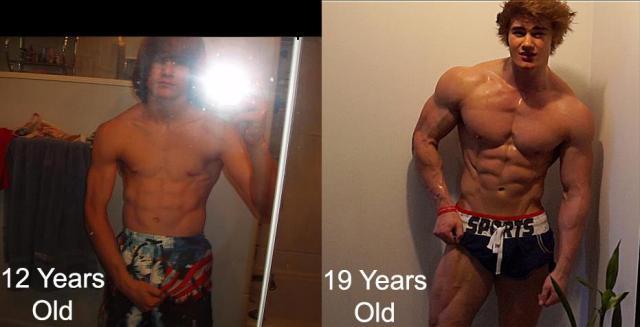 Jeff Seid 009, age 12 vs age 19