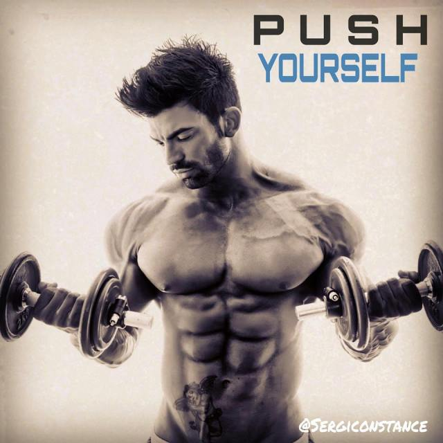 Sergi Constance - PUSH YOURSELF