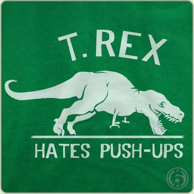 Trex_Hates_Pushups_T_SHIRT_detail